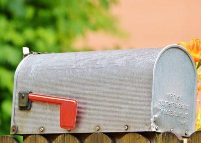 registrski naslov podjetja v Veliki Britaniji, najem registrskega naslova, posredovanje uradne pošte